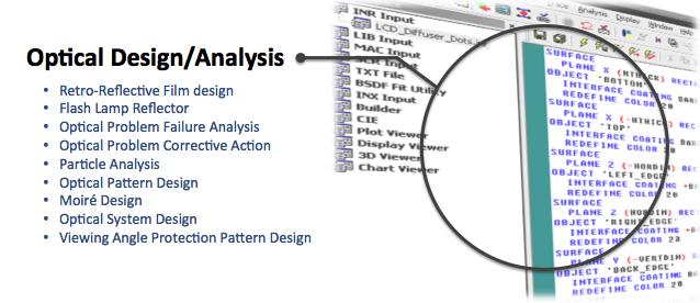 Optical Design Analysis